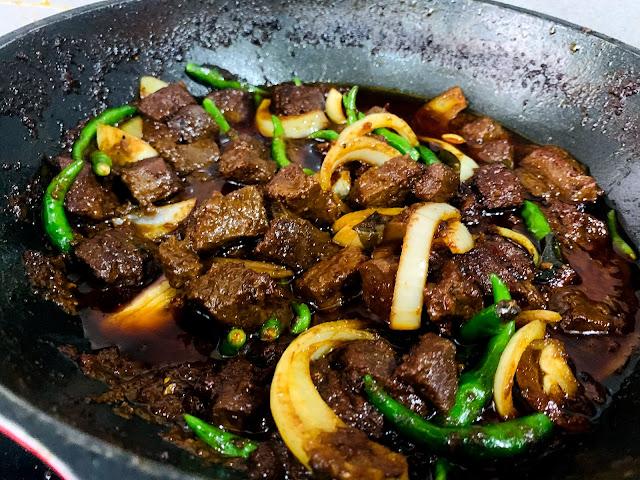 cara masak daging hitam berempah yang sedap ala kenduri