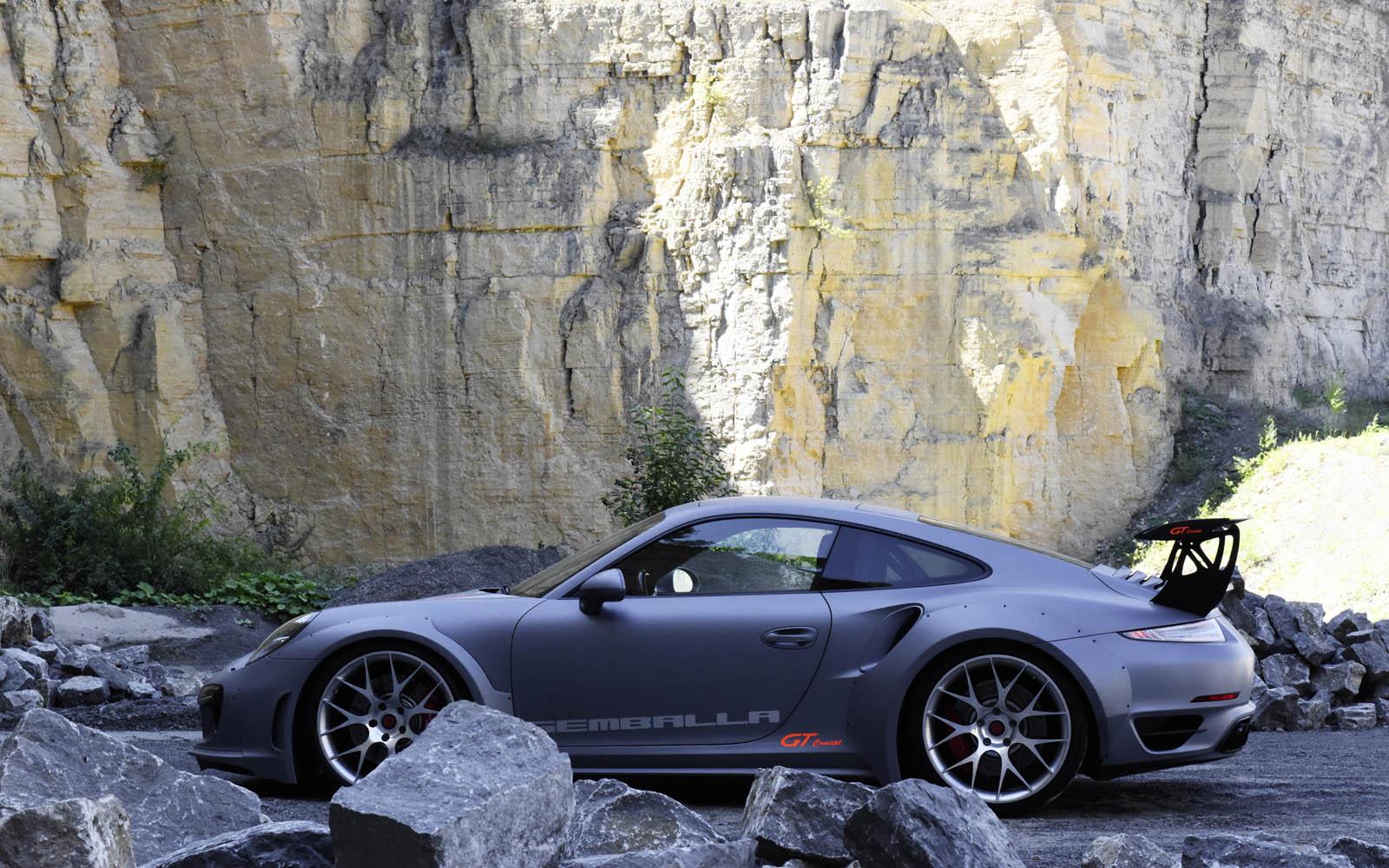 Porsche 911 Turbo GT Concept