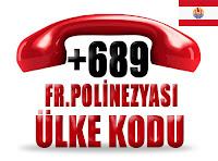 +689 Fransız Polinezyası ülke telefon kodu