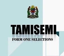 TAMISEMI:Form one Selection 2020 All Regions
