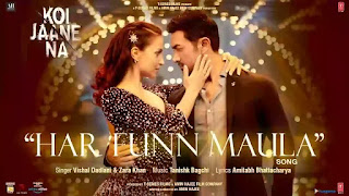 Checkout Vishal Dadlani & Zara Khan new song Har Funn Maula from Koi Jaane na Movie