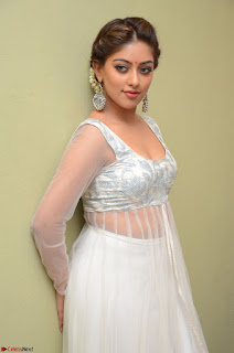 Anu Emmanuel in a Transparent White Choli Cream Ghagra Stunning Pics 066.JPG