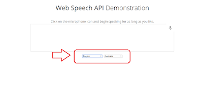 cara menggunakan web speech api demonstration Google