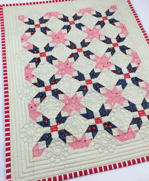 One of Those Days Mini Quilt - Tutorial