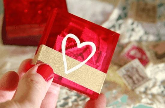 Sevgiliye Romantik Kutu Yapımı Sevgilihediyemcom