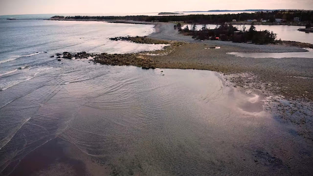 Long Beach / Lower East Chezzetcook - Coastal Erosion - 13th May 2021