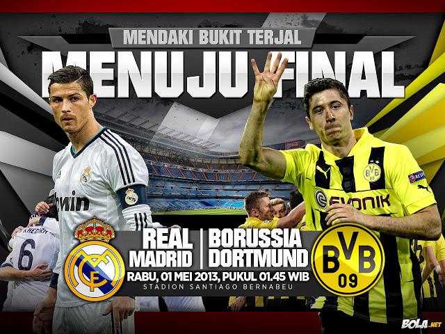 Real Madrid Vs Dortmund