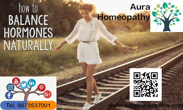 Aura Homeopathy Imbalance Hormones Naturally