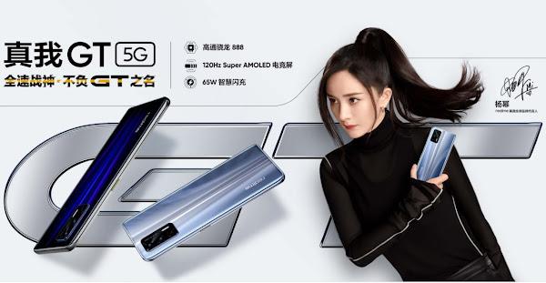 Realme GT lançado com o Snapdragon 888