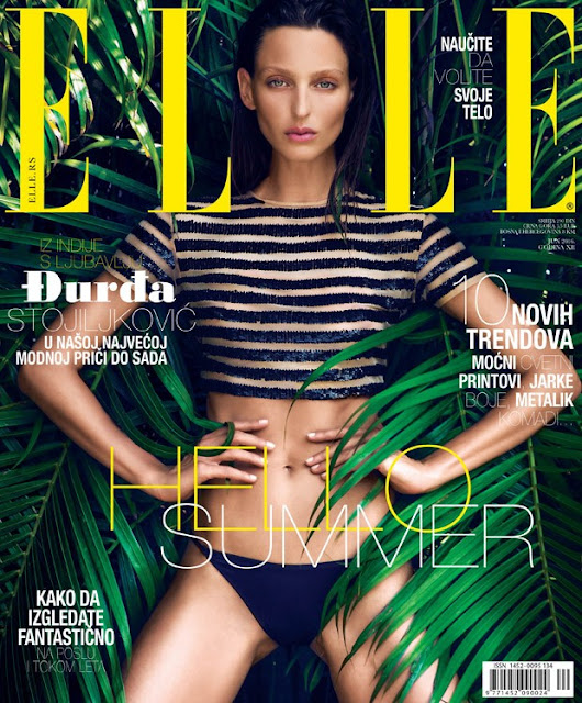 Fashion Model, @ Georgina Stojiljkovic for Elle Serbia June 2016