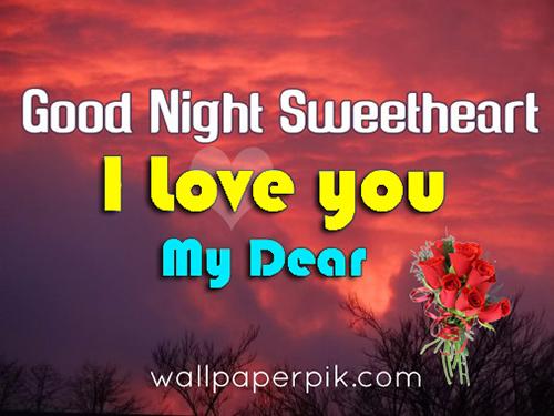 i love you good night image