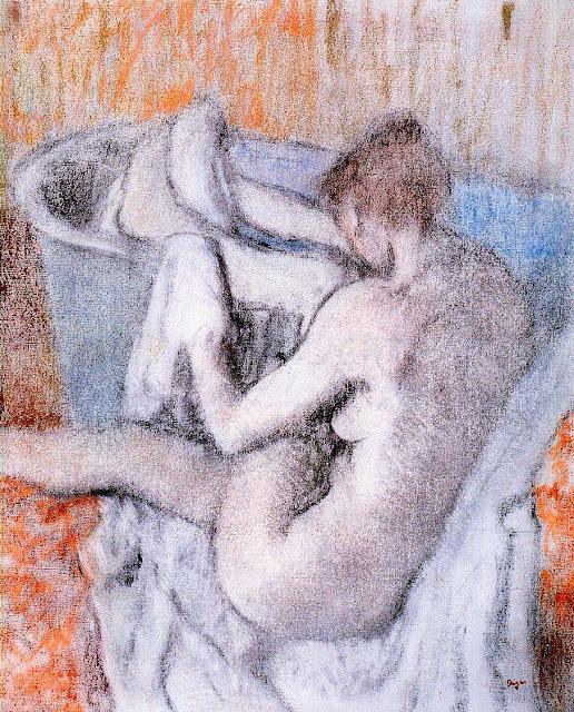 Эдгар Дега - Утренний туалет (1886-1890)