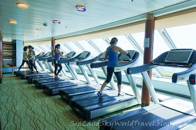 阿拉斯加, 郵輪, Celebrity Infinity, 設施, facilities, fitness center