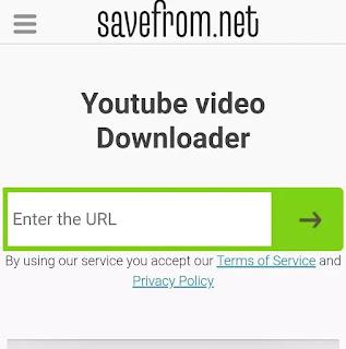 Savefrom.net se youtube ke Video downlaode kare
