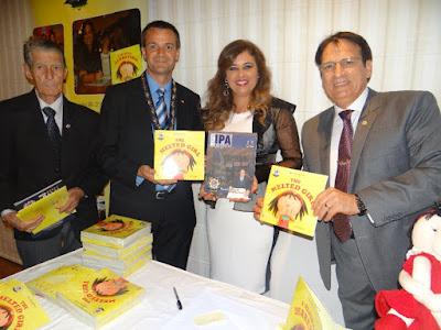 """O livro """"Menina Derretida"""" lançado no Congresso da IPA no Chipre - Europa (Post1)"""