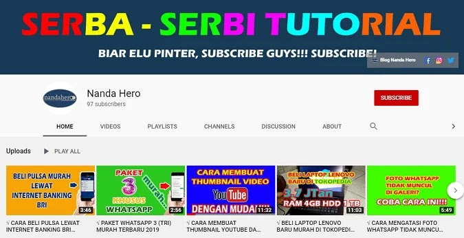 ukuran thumbnail youtube terbaru px cm