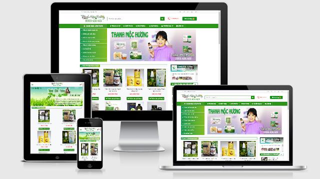 Template Blogspot bán hàng chuyên nghiệp và chuẩn SEO