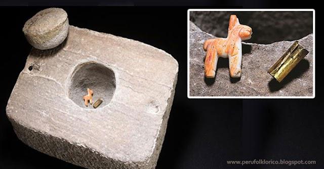 Arqueólogos hallaron una ofrenda inca intacta en el lago Ttiticaca [FOTOS]