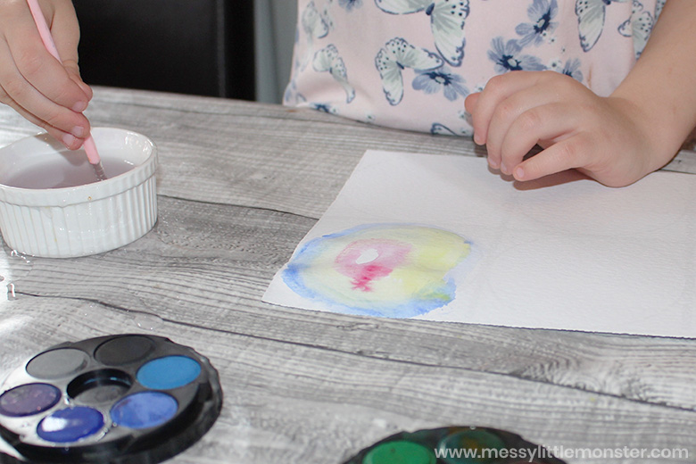 Kandinsky painting for kids