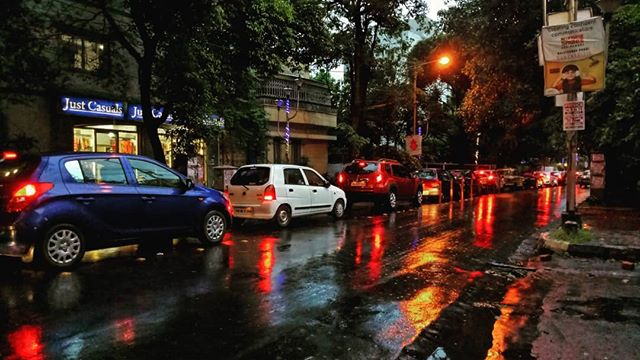 Street view of Kolkata