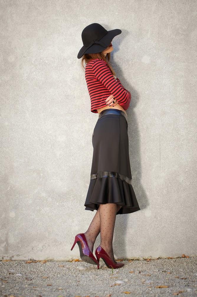 Fabulous Dressed Blogger Woman Claudine