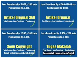 Jasa Artikel Online