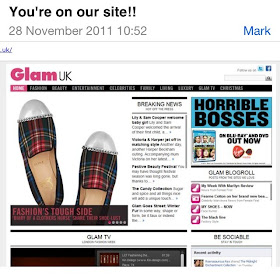 AS FEATURED ON GLAM MEDIA UK