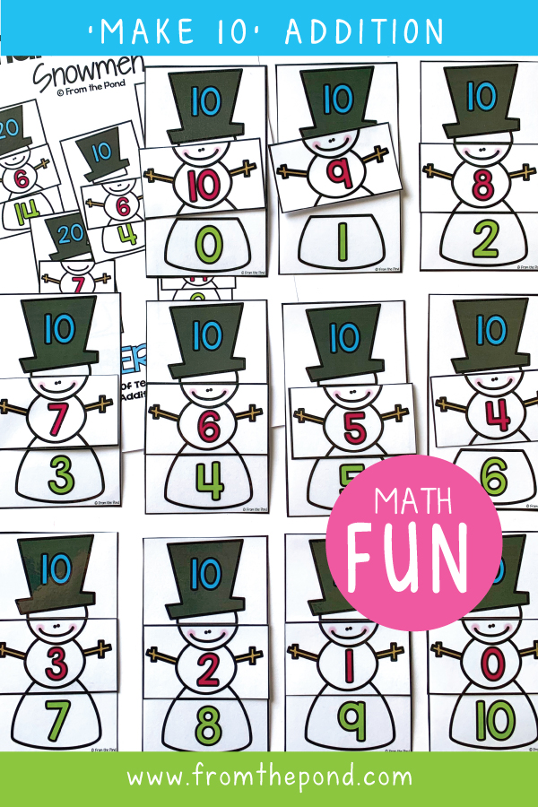 Winter Math Games For First Grade