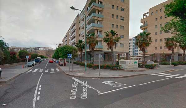 Niño grave por atropello en Las Palmas de Gran Canaria