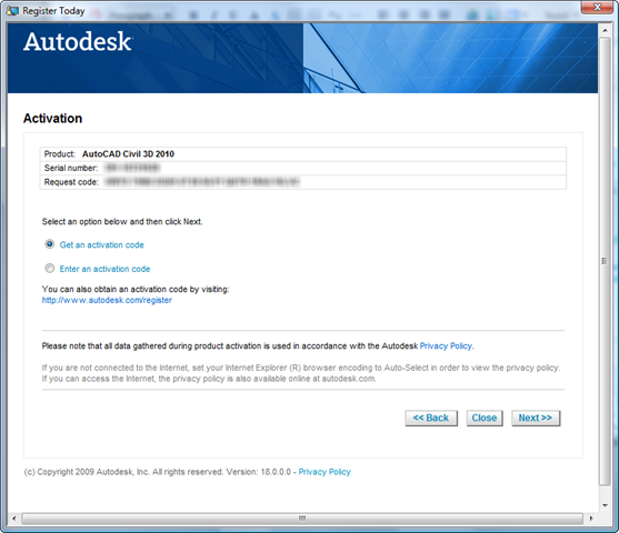 autocad 2010 serial number and product key free