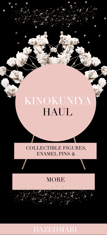 Kinokuniya Haul