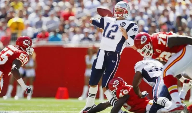 In 2008, Brady suffered the most serious injury of his career in Week 1.