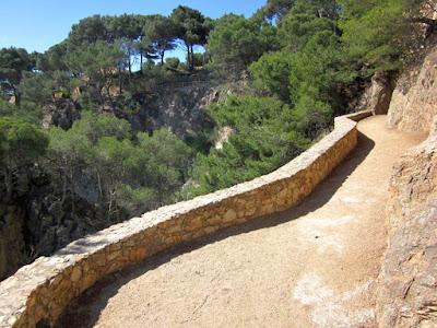Camino de Ronda de Calella de Palafrugell