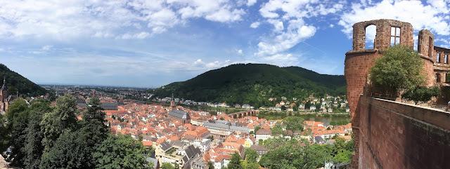 Blick vom Heidelberger Schloss