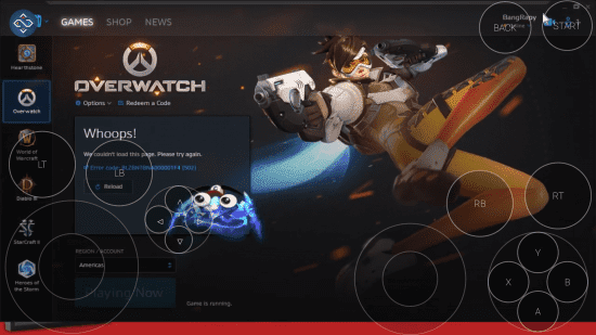 how to play the overwatch game in the android smartphone syandi gafri
