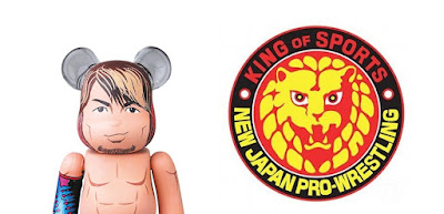 New Japan Pro Wrestling Hiroshi Tanahashi 100% Be@rbrick Vinyl Figure by Medicom Toy