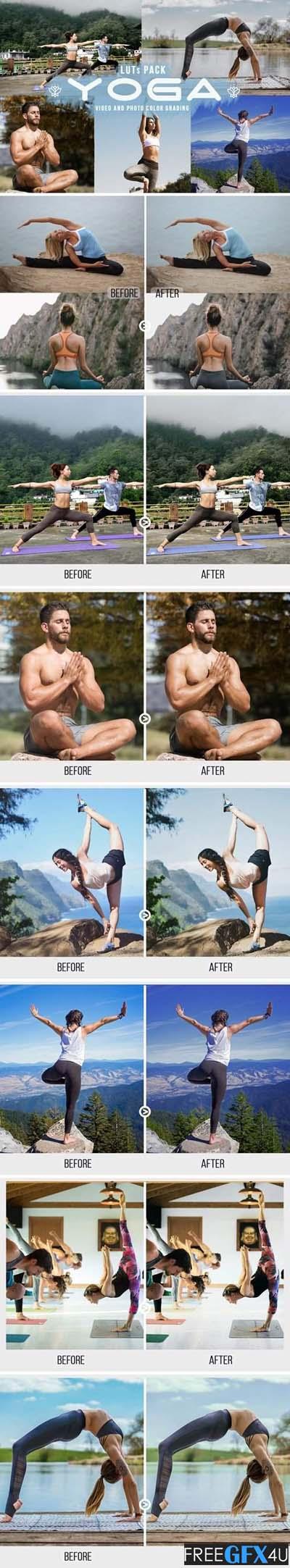 Yoga LUTs - 11 Yoga