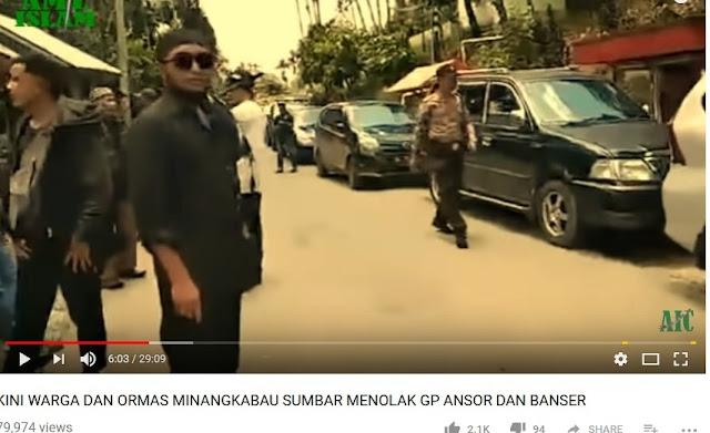 Ansor & Banser Ditolak, Pemuda Aswaja Singgung Sumbar Basis Pemberontakan PRRI/Permesta