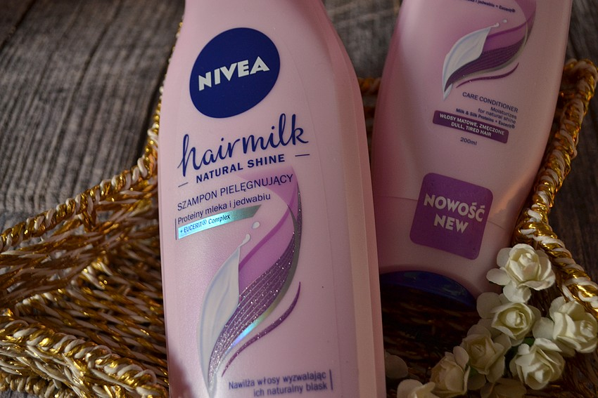 Nivea Hairmilk natural shine - szampon