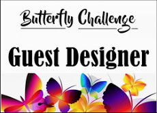 Guest designer at butterfly challene
