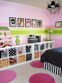 decoration chambre fille image