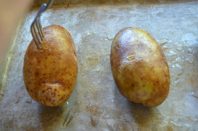 Twice Baked Potatoes are doubled baked at 425 degrees for 1 hour from Serena Bakes Simply From Scratch.