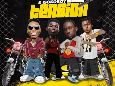 "DOWNLOAD MP3: Solidstar ft. Terry Apala, Orezi & Isoko Boy - ""No Tension"""