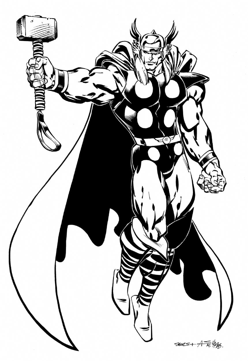 Cap'n's Comics: Some Bart Sears