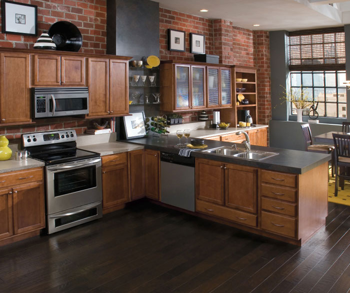 Contemporary Kitchen Cabinet Design: Home Improvement & Construction