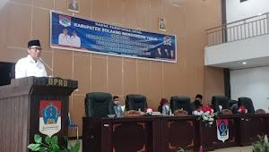 Bupati SSM Sampaikan Perubahan KUA-PPAS Boltim Tahun Anggaran 2021 Dalam Rapat Paripurna DPRD