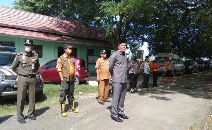 Pemkab Serang Bersama TNI-Polri Serius Perangi Covid-19