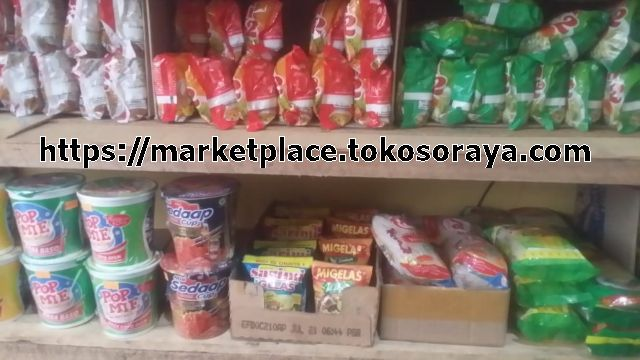 photo jual produk mie instant