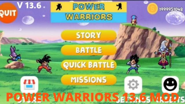 تحميل لعبة Power Warriors 13.6 أخر إصدار للأندرويد برابط مباشر من ميديا فاير