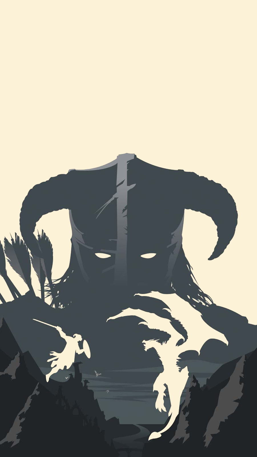 #Skyrim phone wallpaper